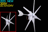 Wholesale 2013 NEW W Home wind turbine power generation residential windpower DC12V V wind energy ISO9001 Wind Power Generator