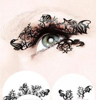 Wholesale New Fashion Handmade Paper Cutting Art False Eyelashes Eyelash Designs Makeup Paper Lace