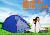 Wholesale Outdoor Hiking Camping Tent Via DHL for two People Beach Summer Waterproof Tent