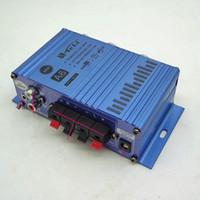 Wholesale Durable mini power amplifiers Digital Teli A6 Car Amplifier Motorcycle Boat KS2001