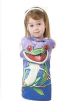 Unisex Spring / Autumn  hot sold kids loved creative tee cute frog clothes