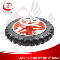 Wholesale High Quality inch Rear Wheel Complete with GUANGLI Brand Off road Tyre amp Tube Wheel Rim Brake Disc Sprocket