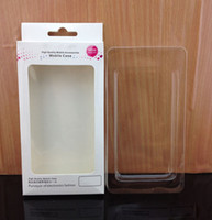 Wholesale Retail Plastic Packaging Package Crystal Packing Box for cell phone case for iphone G G s case cover