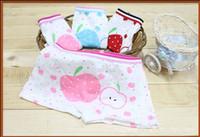 Wholesale Cotton Kids Panties Underwear For Children Apple Girls Shorts Knickers Underpants