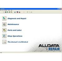 Wholesale car rapair software ALLDATA Data coverage to ad