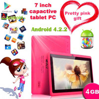 Wholesale New Arrival Q88 quot Google Android Dual Camera Tablet PC Allwinner A13 GB MB GHZ Capacitive Screen WIFI