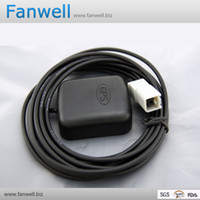 Wholesale car gps external active antenna with RG174 m cable for AVIC fakra connector
