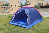 Wholesale Outdoor Four Seasons Folding Double camouflage Hiking camping tent Best Quality