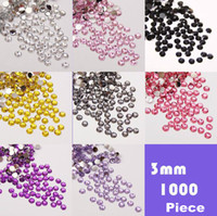 Wholesale bags mm piece bag Coloured resin diamond mobile phone decorative stickers beauty sticke laptop stickers
