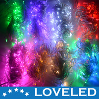 Wholesale Promotions Colors m LED String Lights Outdoor Christmas Decoration Ornaments LED Lights V V Free Fedex