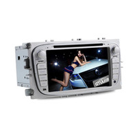 2 DIN 1080p mp4 player - For Ford Focus Special Car DVD Player GPS BT AUX Steering Wheel Control RDS P USB TF Card Car Dual DVD player H372