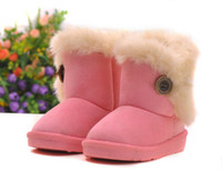 Wholesale 2013 New Children Snow Boots Thicken Winter Children Shoes For baby Kids child snow boots colour Children s warm boots hot sale