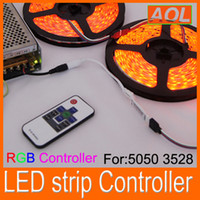 12V ac dim - Mini Controller Dimmer keys Wireless RF Remote RGB LED strip Controller V for LED Strip