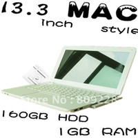 Wholesale 13 inch hig quality laptop hot selling cheap price wifi camera DVD room G GB