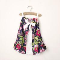 baby girl kids flower floral dress strap dress ribbon bow ru...