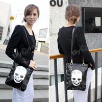 Unisex other other Skeleton Designer Skull Handbag Backpack Hobo Lady Women Purse Punk Shoulder Bag[04070214]