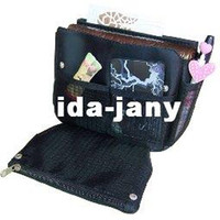 Wholesale NEW makeup MP3 phone storage Organizer Multi Bag Purse Hop Bag Handbag Insert