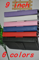 """Cheap Universal 9 Inch Leather Keyboard Case Cover For 9"""" Tablet PC high quality Standard USB Micro USB"""