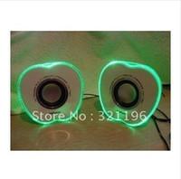 Wholesale Sound Box USB Portable Speaker HIFI USB Mp3 speaker Stereo Mini Speaker Music MP3 Player Amplifier loudspeaker
