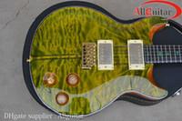 Wholesale Santana Green Burst Electric Guitar China Guitar
