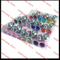 Wholesale This is g L size CM Stainless Steel Attractive Butt Plug Jewelry Anal Plug Rosebud Anal Jewelry