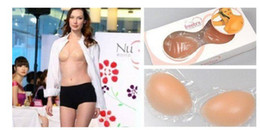 Wholesale 150pcs Silicone Bra Breast Bra Enhancer Push Up Padded Insert Strapless Free BRA and Fast Ship Retail packaging