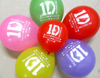 Wholesale 30pcs One Direction Latex Balloons Birthday Party Gift Favor Toy Jewelry