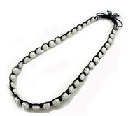 Wholesale 10mm Crystal Micro Pave Disco Ball Shamballa Necklace Fashion Jewelry For Men And Women