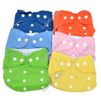 Wholesale Magic Tape Washable Breathing Baby cloth diaper nappy Closure