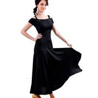 Rosette ballroom dancing dresses - Latin Ballroom Modern dance skirt dress dancewear dancing clothes hb035