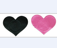 Wholesale 4 colors nipple covers heart shape Safety environmental protection tit tape nipple sticker pairs