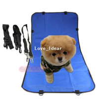 Wholesale New Dog Car Rear Back Seat Cover Cushion Travel Protector Pet Mat Blue