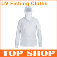 Wholesale Fishing Clothing Sun Resistant Quick Dry Anti UV Breathable Long Sleeved Suit Fishing hat Fishing Clothes HW0018