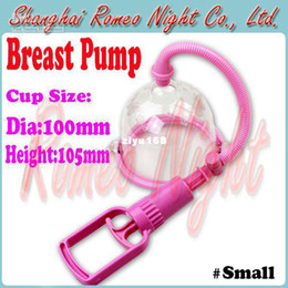 Wholesale Manual Breast Pumps Small Chest Enlargement With Cup Chest Pump Adult Sex Toys for Women Sex Pro