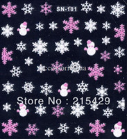 Wholesale NEW ARRIVAL SN Series Nail stickers D Nail art