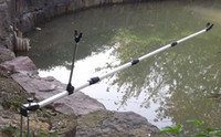 Wholesale Rod holder Fishing Rods holder support stainless steel stretch Metal Rod Pole Bracket Holder Fishing Simple Hand Stand
