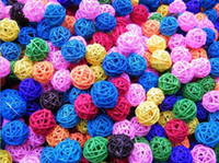 Wholesale 2013 New Arrive Colorful Cane Ball Home Hang Decorations Hand making Weave cm colors mixorder