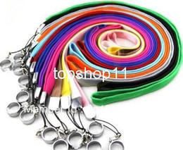 Hot Selling Ego Chaîne de cordon de collier coloré pour e cig avec chaîne anneau 10 Couleur disponible en pur coton pour Ego E Kit de cigarette ecig 200ps à partir de longes pour cig fabricateur