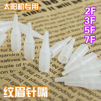 Permanent Makeup Tips assorted cosmetics - 100x Permanent Makeup Nozzle Tips Sterilized For Eyebrow Lips Eyeliner R R R R F F F Size Assorted Cosmetic Tattoo Supply Series A1
