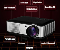 Wholesale China Factory New Arrival high performance digital HD LED video projector D full hd p support HDMI USB VGA AV TV Tuner