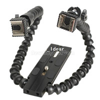 No 53372  Flexible Flash Bracket Holder Dual-arm Joint for MACRO SHOT Universal NI5L