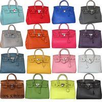 Women big red drops - Sale women Fashion PU Leather designer handbags Classic luxury Shoulder Big Capacity Lock bags drop ship color