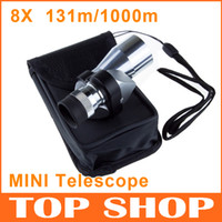 Wholesale Mini Monocular Telescope X20 m m mm mm g BAK7 Aluminum Alloy Portable Mini Telescopes HW0045