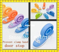 Wholesale Colors Child kids Baby plastic Door stopper Child protective door card SAFH