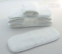 Wholesale Washable reuseable Baby Cloth Diaper Nappy inserts