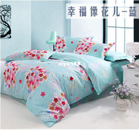 Wholesale High quality bedding set doona duvet covers Luxury cotton printing bedclothe