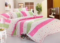 Wholesale Princess Applique lace bedding cotton twill bedding sets duvet cover sheet bedspread pillow