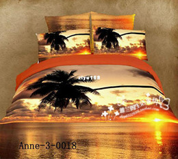 Wholesale unique oil painting Duvet cover modern king queen d PCbedclothes bed sheet sets bedd