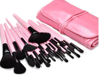 Wholesale MAC32 branch professional makeup brush make up brush sets pink makeup brush to send packages