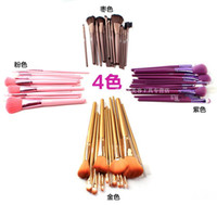 Woody authentic makeup - MEGAGA authentic makeup brush colour makeup tools with fiber makeup brush sets with MAO suit